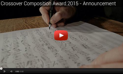 Crossover Composition Award Ausschreibung 2015