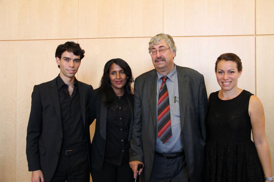 Verleihung des Menschenrechtspreises 2012